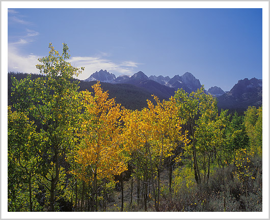 Changing Seasons of Sawtooth Mountains
